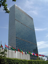 UN Headquarters in Newyork