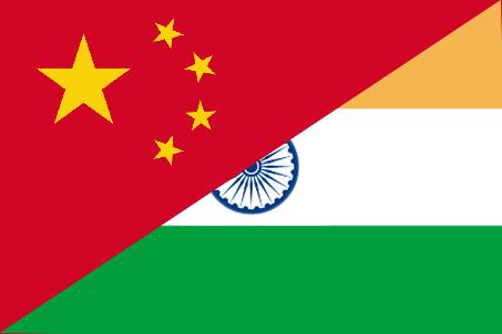 india-china-flag