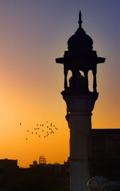 Minaret at Sun Set