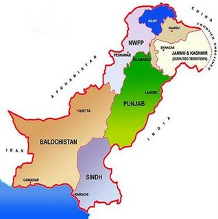 Pakistan provinces