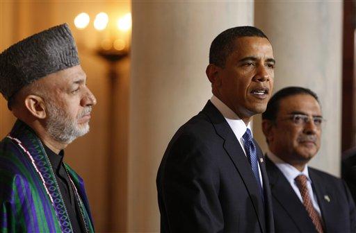 Obama US Afghanistan Pakistan