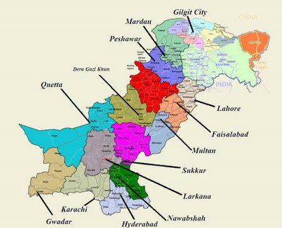 Administrative divisions in Pakistan Wonders of Pakistan